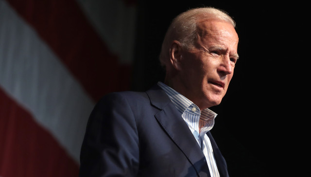 Right After Biden Says He'd 'Be Happy To Take Questions,' WH Live Feed Cuts Off