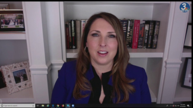 Ronna McDaniel Says RNC Is Responding To Biden's Actions In 'Real Time
