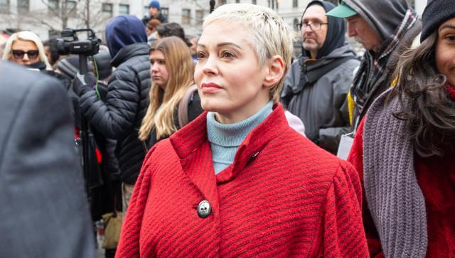 Actress Rose McGowan Calls Impeachment Effort 'Cult Propaganda'