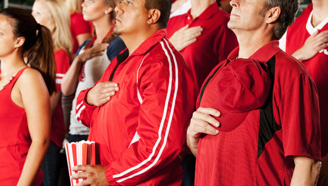 WaPo Opinion Piece Launches Assault On National Anthem Before Sports Events: 'Hate Being Spewed In The Name Of Patriotism'