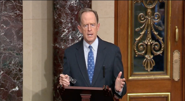 Pennsylvania Republican Party Issues Strong Rebuke To Pat Toomey Over Vote To Convict Trump