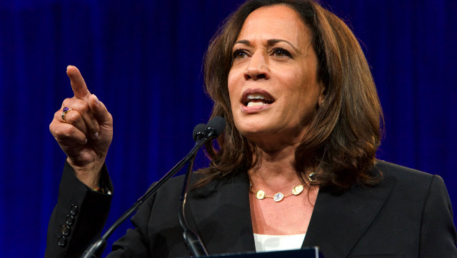 Harris, Pressed On Lack Of Border Visit, Responds By Saying She Hasn't 'Been To Europe' Either