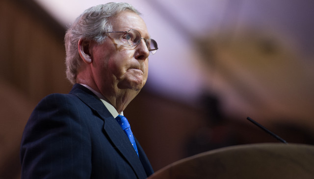 McConnell Goes Off On Biden, Says Trump Was 'Excellent' On Border, But Biden's Failing