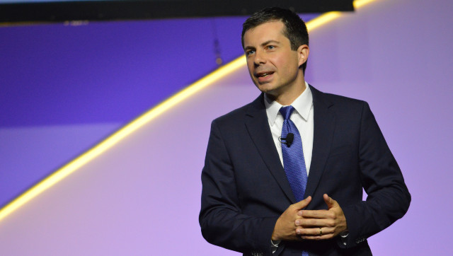 Pete Buttigieg Tries To Address Vaccine Hesitancy Among 'White Evangelical Christians' By Saying 'Maybe Vaccine Is Part Of God's Plan'