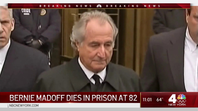 Bernie Madoff, Ponzi Scheme Mastermind, Passes Away Behind Bars