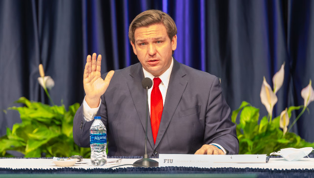 FL Gov. Ron Desantis Has Created 'Incentive Packages' With Ports To Help Solve Supply Chain Clog