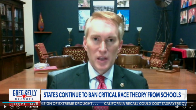 Lankford Says He's 'Relieved' Oklahoma Slapped Ban On Critical Race Theory