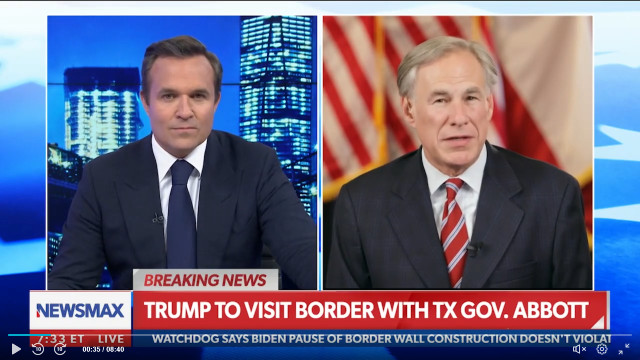 Gov. Abbott Says Trump Set A 'High Mark' When It Comes To Border Security