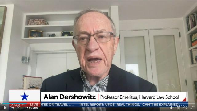 Harvard Law Professor Emeritus Alan Dershowitz Says Trump Might Be Called, But The Panel Will 'Fail'