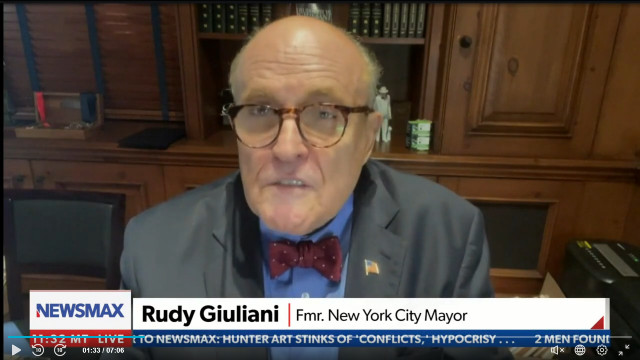Rudy Giuliani Says Uptick In NYC Prostitution, Crime Is All De Blasio's Fault