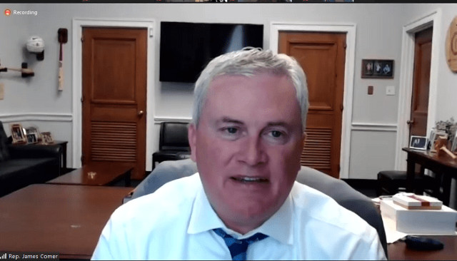 Rep. Comer Says All The Infighting Is A 'Defining Moment' For The Democratic Party