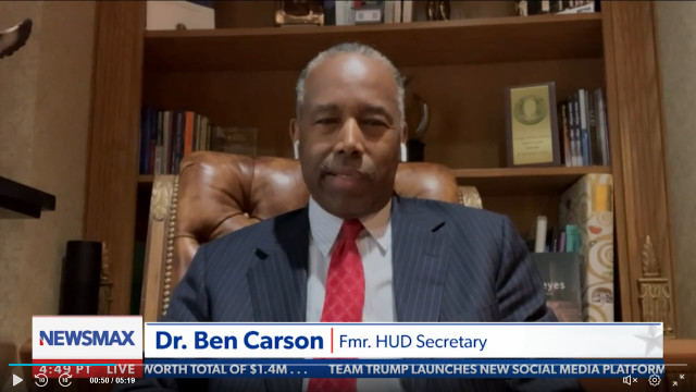 Ben Carson Says Cultural Negativity Making It Hard For Kids To Be Kids: 'There Used To Be Love In Our Society'