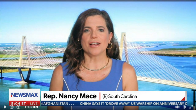 Rep. Nancy Mace Rips Into Cuomo, Says He Should Resign Amid NY Attorney General's Investigation Findings