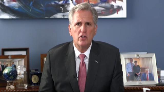 Rep. Kevin McCarthy Slams New Tax Legislation, Says China 'Wins In This Tax Bill'
