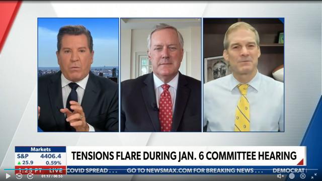 Jim Jordan, Mark Meadows Rip Into Pelosi's Jan. 6 Committee, Call It A 'Sham'