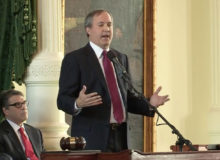Texas AG Paxton Says He's Running On Experience With Backing Of Former President Trump