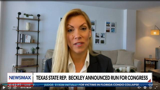 Rep. Van Duyne Says Democrat Challenger Can't Show Up To Do Her Job