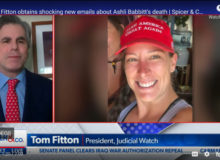 Tom Fitton Says Emails Are Now Raising More Questions About Death Of Ashli Babbitt