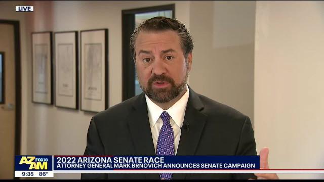 POLL: Mark Brnovich Leading Big Time In AZ GOP Primary