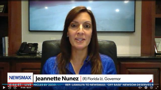 FL Lt. Gov. Nunez Heaps Praise On His State: 'Florida Got It Right' By Not Mandating Vaccines, Masks