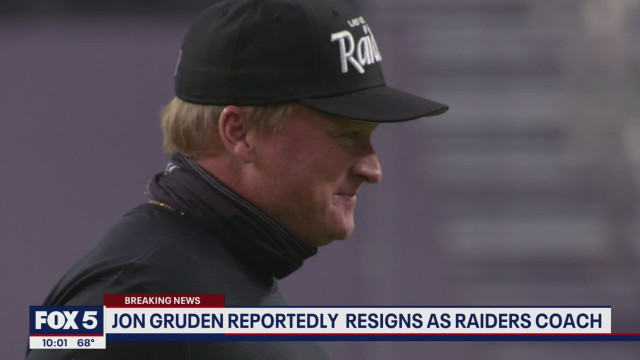 Jon Gruden, Coach For The LV Raiders, Resigns After Emails Reveal He Called Biden A 'Nervous Clueless P***y,' Used Racial Slurs