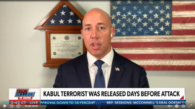 Rep. Mast Shreds Biden's Troop Withdrawal, Says Afghan Exit Wasted 20 Years Of 'Blood, Sweat, Tears'